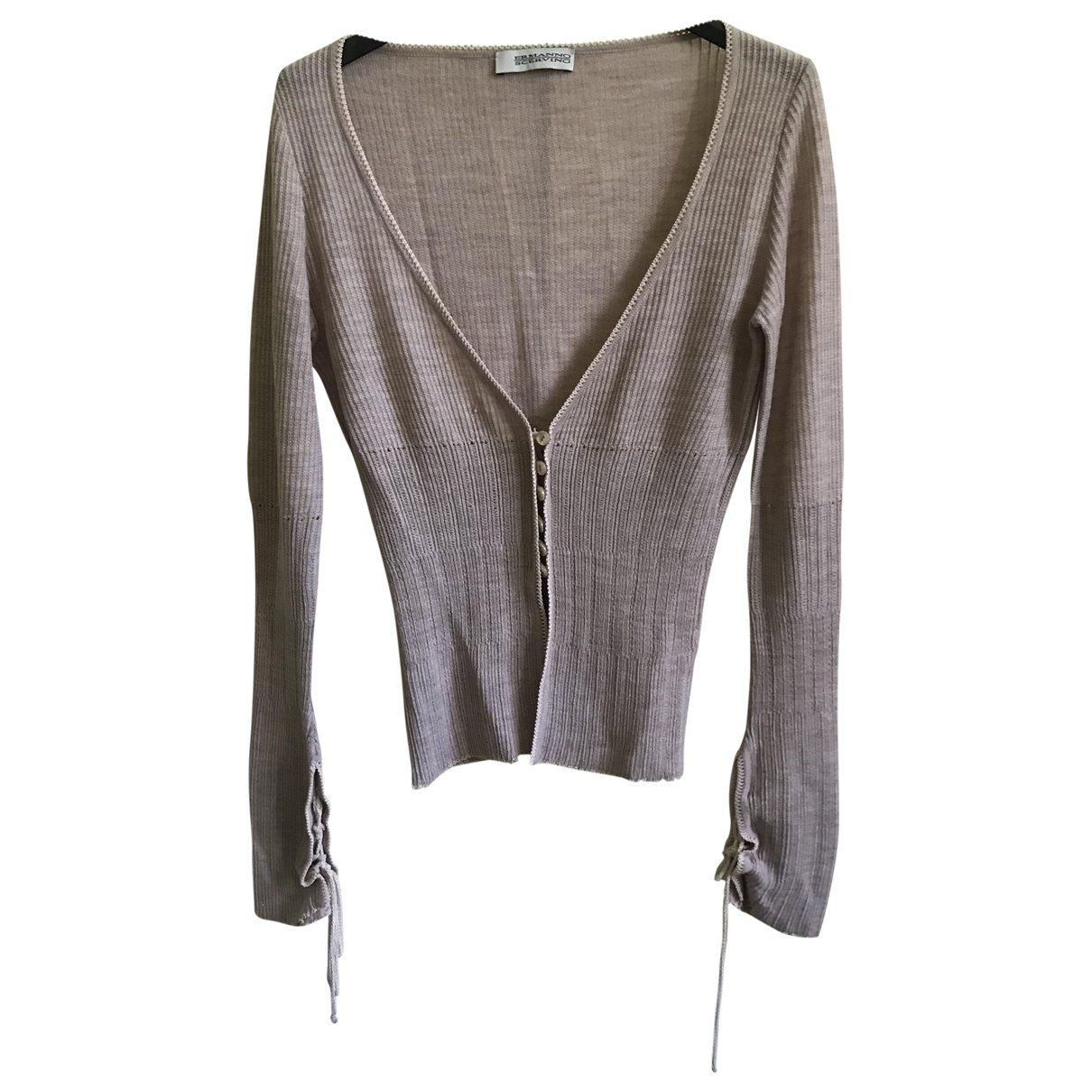 Ermanno Scervino \N Pink Wool Knitwear for Women 40 IT