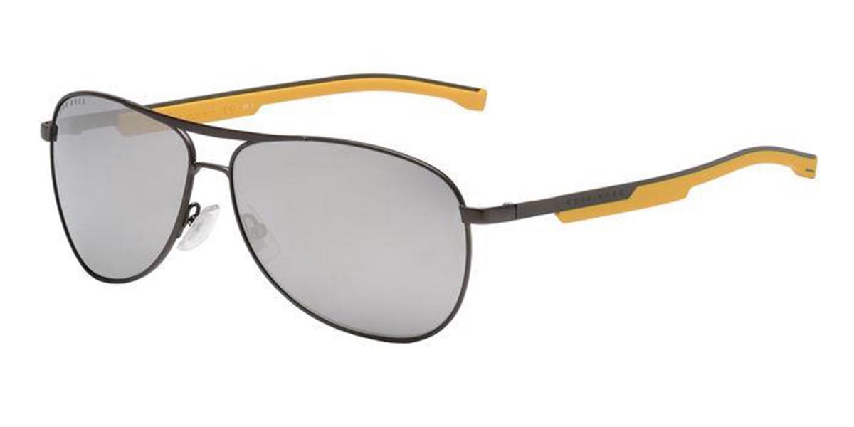 Boss by Hugo Boss Boss 1199/S TI7/UE Men's Sunglasses Black Size 63