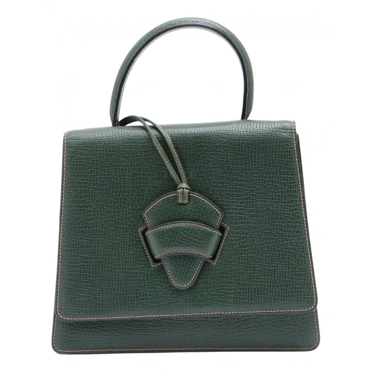 Loewe Barcelona Green Leather handbag for Women N