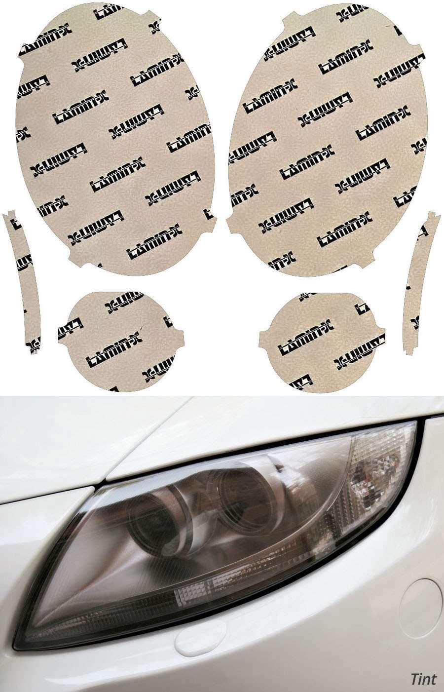 Mini Cooper 14-18 Tint Headlight Covers Lamin-X MN013T