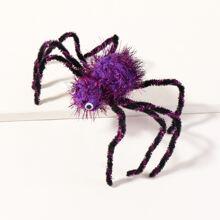 Kleinkind Maedchen Haarspange mit Halloween Spinne Dekor