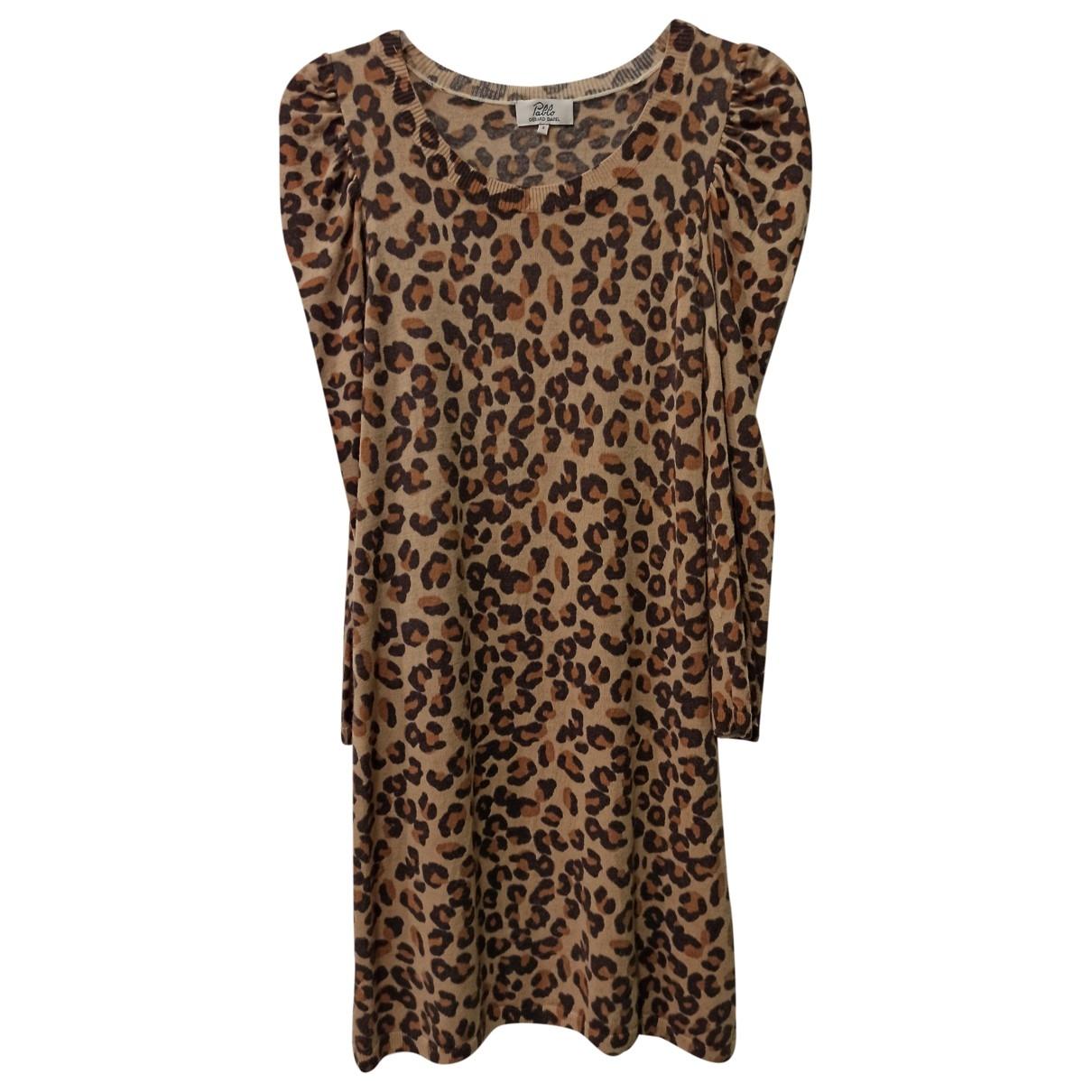 Pablo \N Beige Wool dress for Women 38 FR