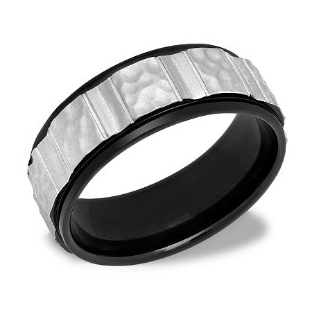 8MM Stainless Steel Wedding Band, 10 1/2 , No Color Family