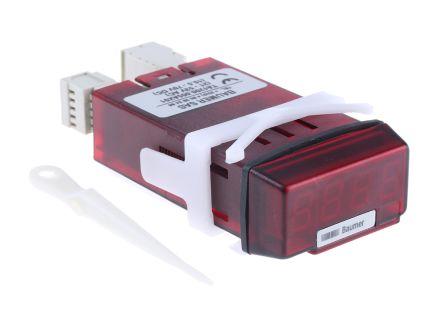 Baumer TA1200, 4 Digit, LED, Digital Counter, 7kHz, 10.5 → 70 V dc, 21 → 53 V ac