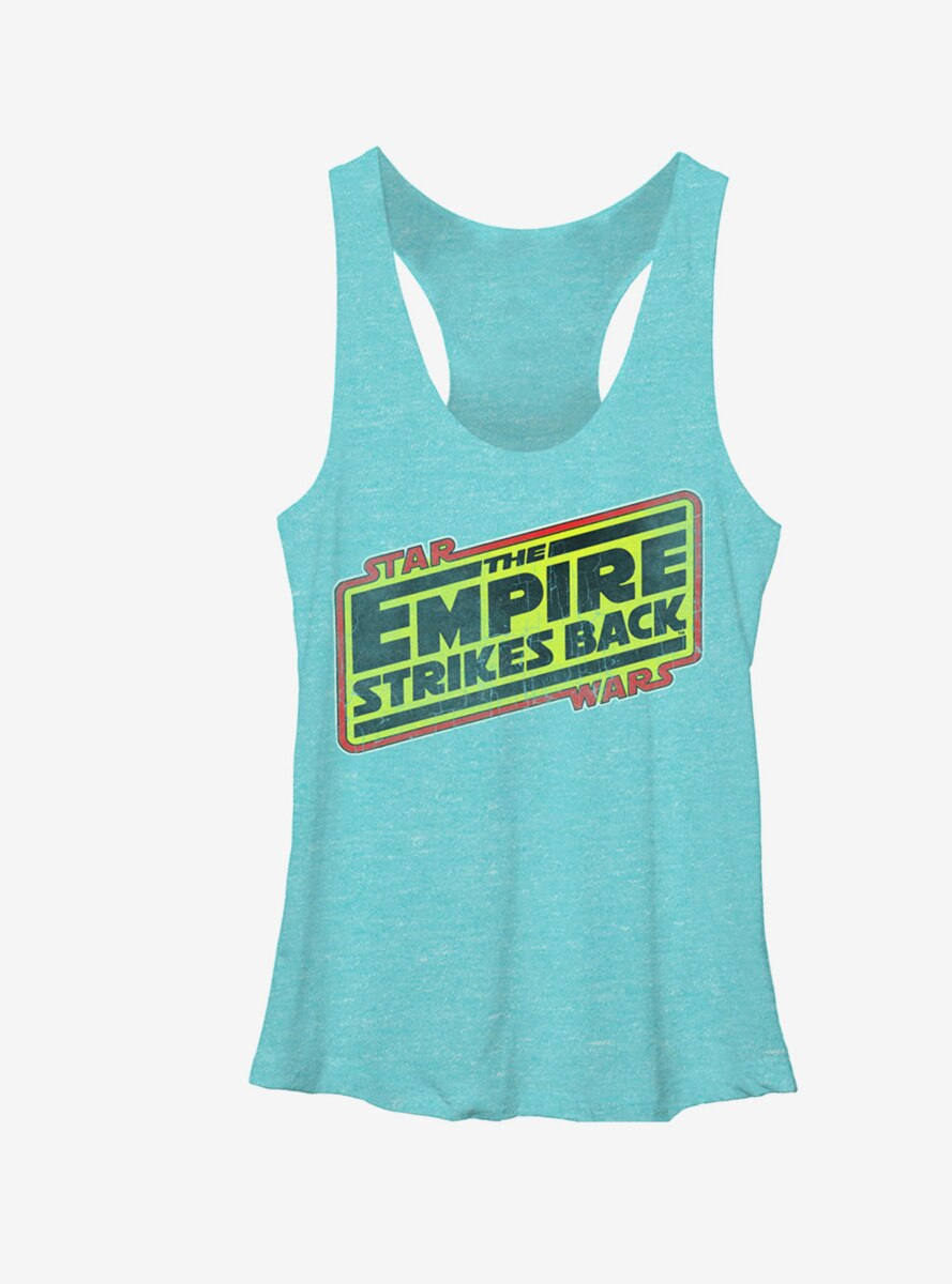 Star Wars Episode V Logo Womens Tank