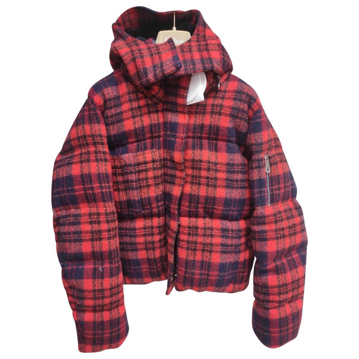 Chloé \N Multicolour Wool coat for Women 38 FR