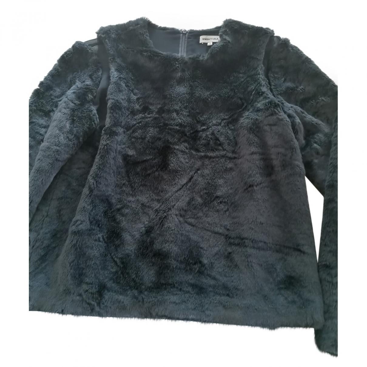 Bimba Y Lola \N Pullover in  Schwarz Polyester