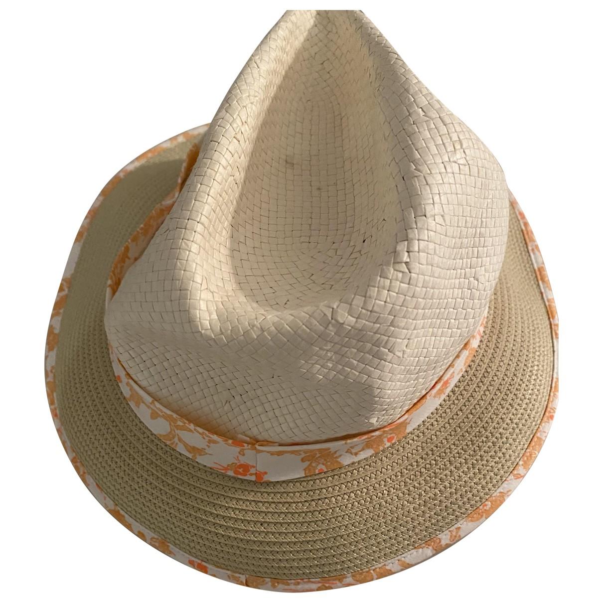 Chloé \N Beige Wicker hat & Gloves for Kids \N