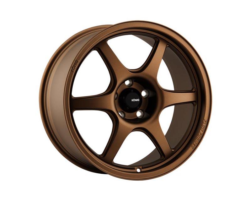 Konig Hexaform Wheel 18x9.5 5x114.3 25 BZMTXX Matte Bronze
