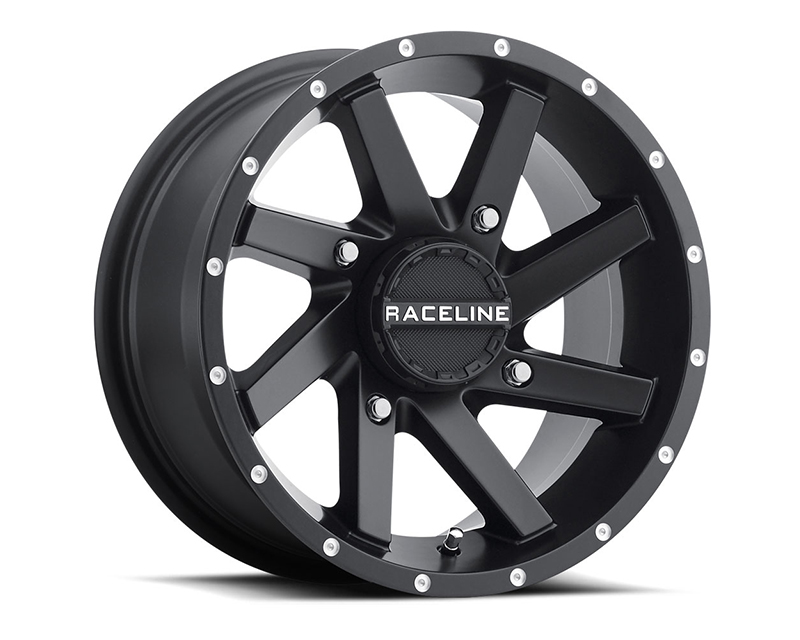 Raceline Wheels A82B-47011-52 Twist Black 14x7 4x110 (5+2)