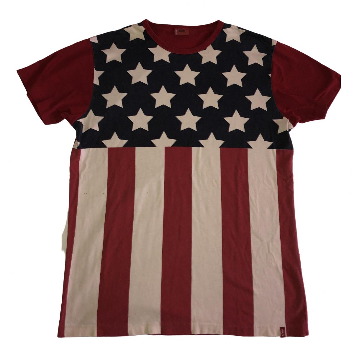 Levis - Tee shirts   pour homme en coton - rouge