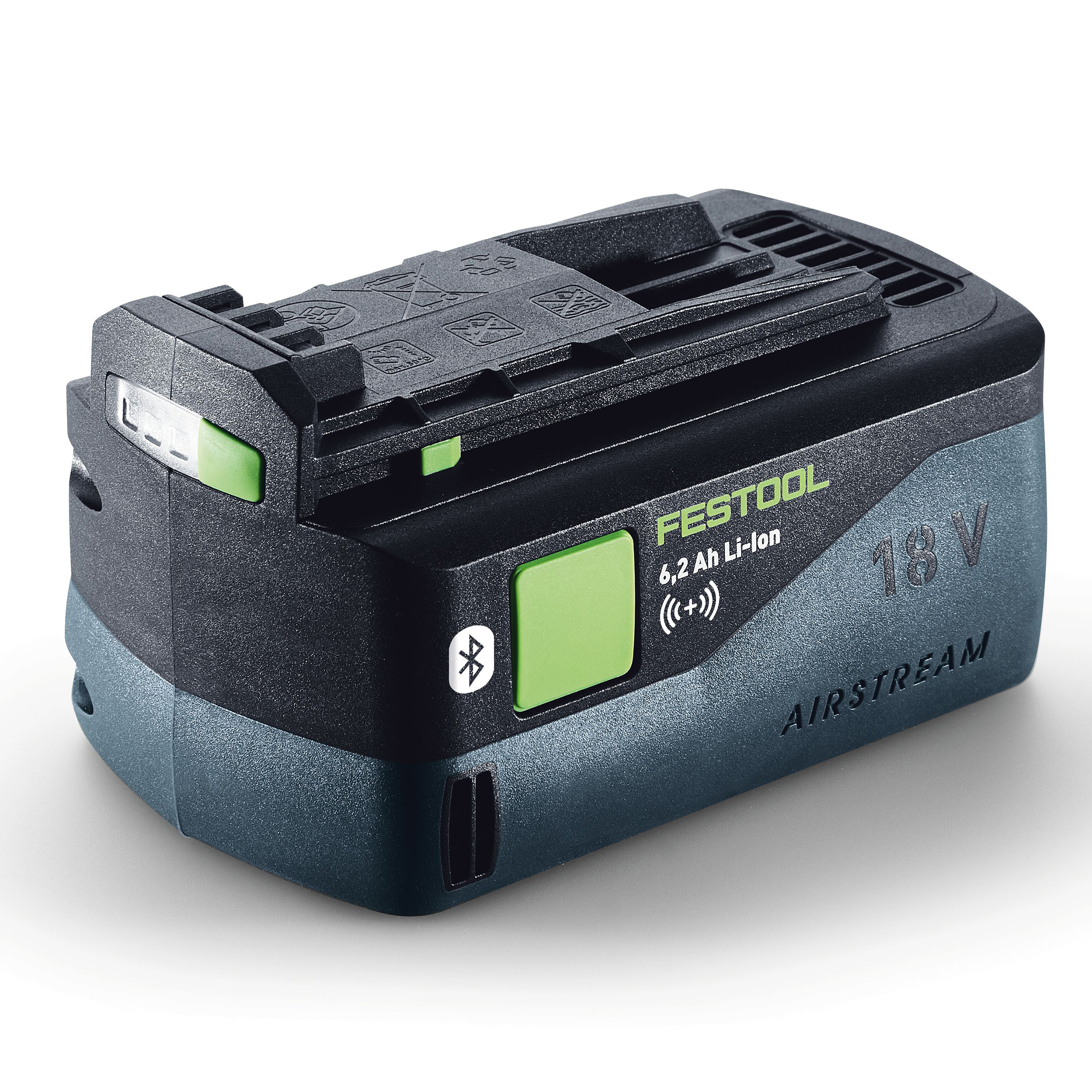 Bluetooth 6.2Ah Lithium-Ion Battery Pack for 18V cordless tools