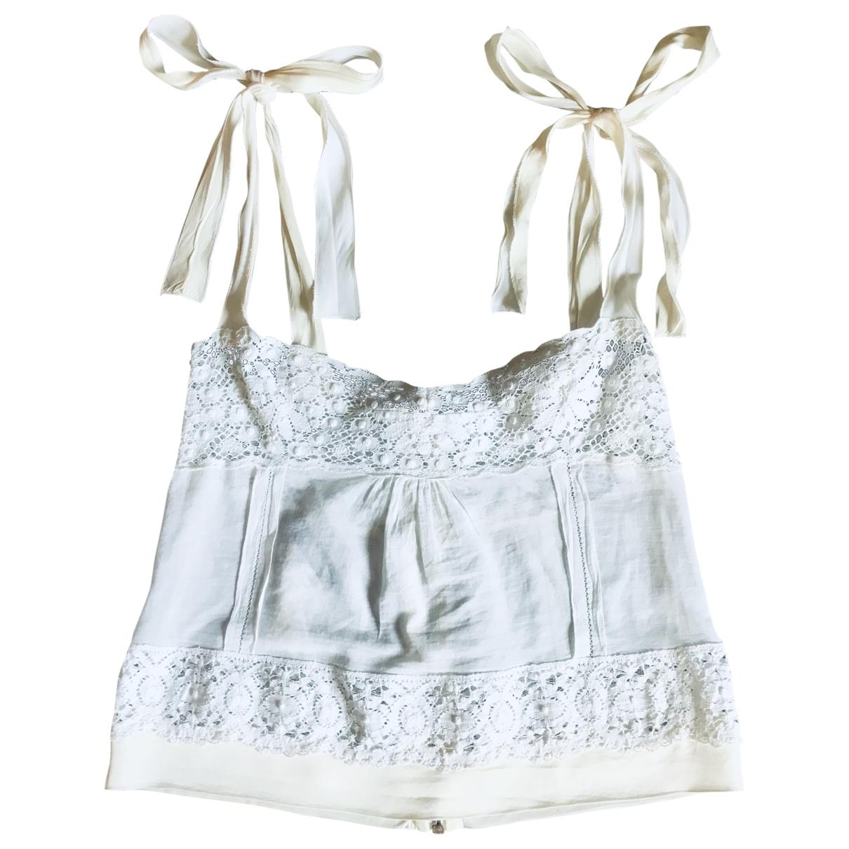 Dolce & Gabbana \N White Cotton  top for Women 42 IT