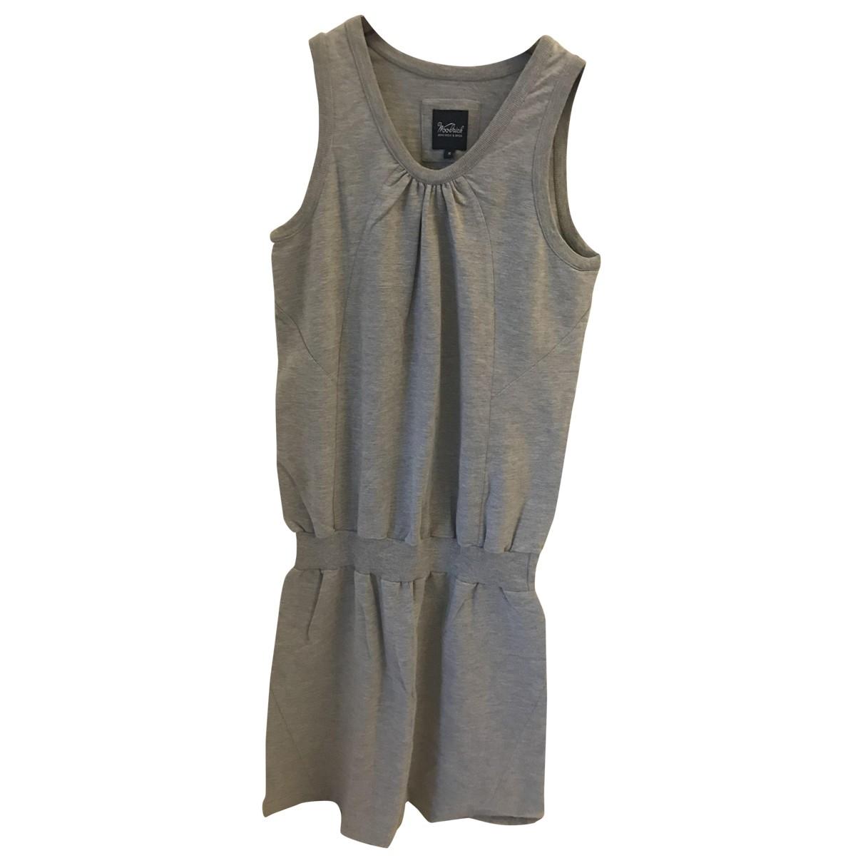 Woolrich \N Kleid in  Grau Baumwolle