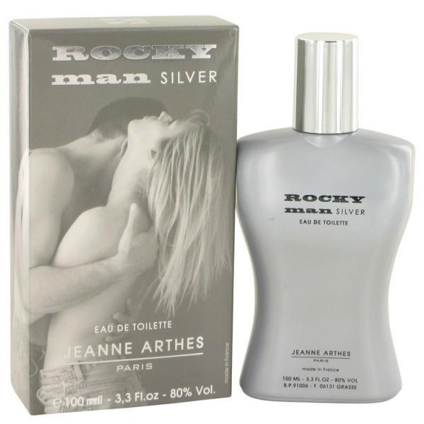 Rocky Man Silver - Jeanne Arthes Eau de toilette en espray 100 ML