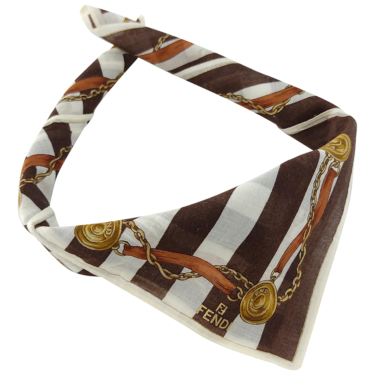 Fendi \N Multicolour Cotton scarf & pocket squares for Men \N