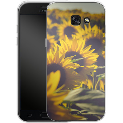 Samsung Galaxy A5 (2017) Silikon Handyhuelle - Sunflower 2 von Joy StClaire
