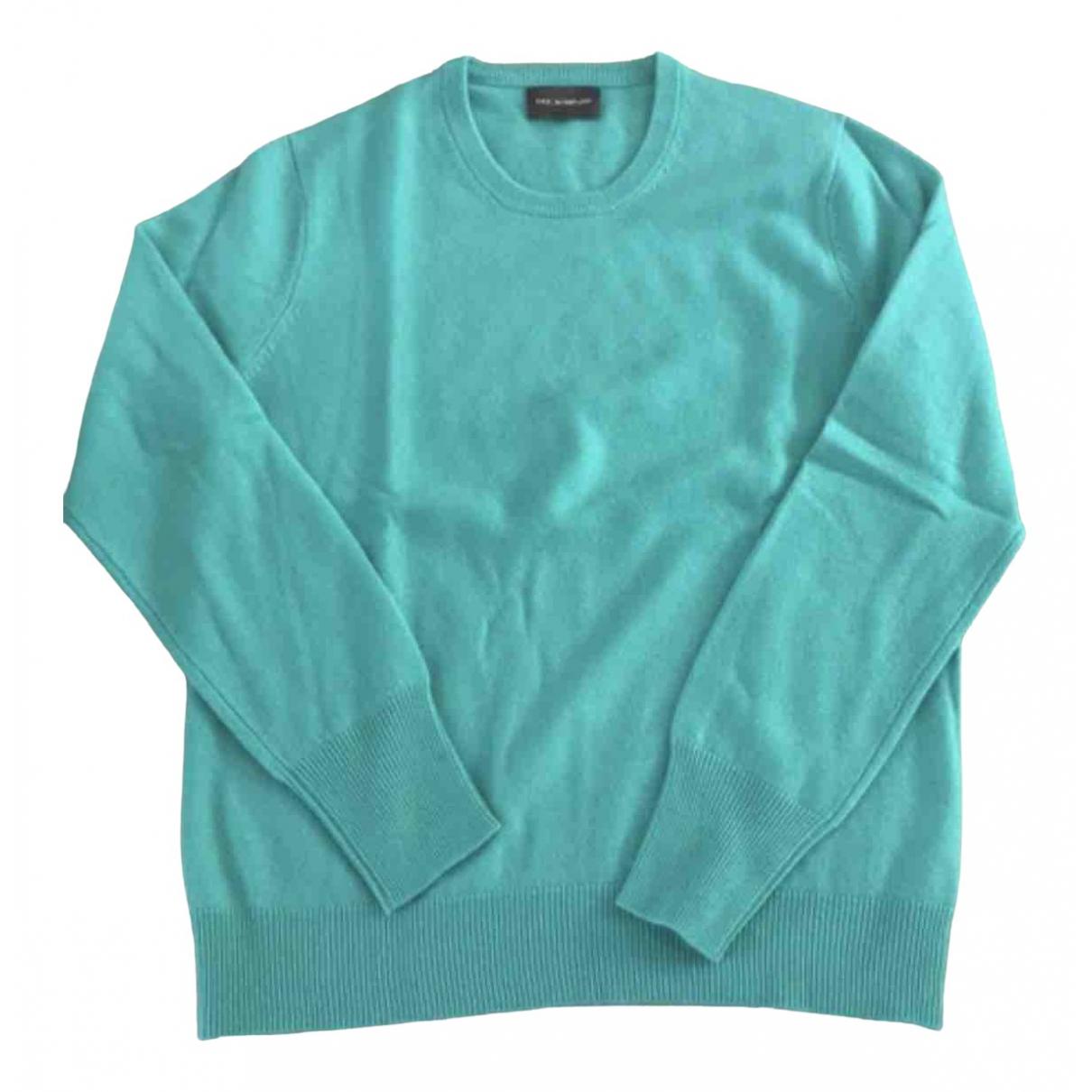 Eric Bompard \N Pullover.Westen.Sweatshirts  in  Gruen Kaschmir