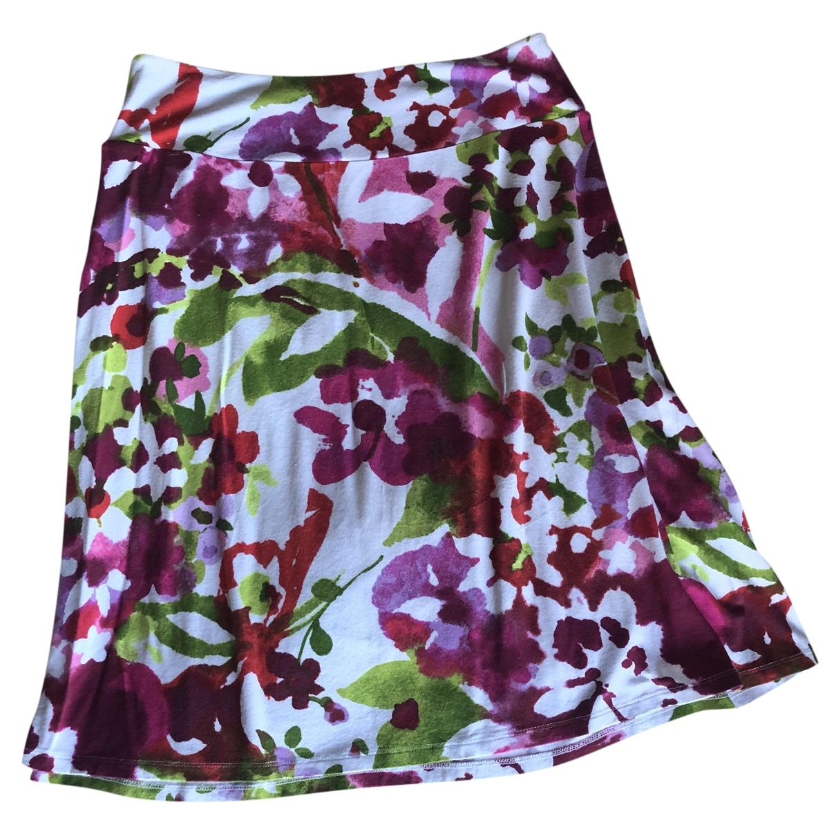 Non Signé / Unsigned \N White skirt for Women M International