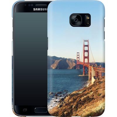 Samsung Galaxy S7 Smartphone Huelle - Golden Gate Galore von Omid Scheybani