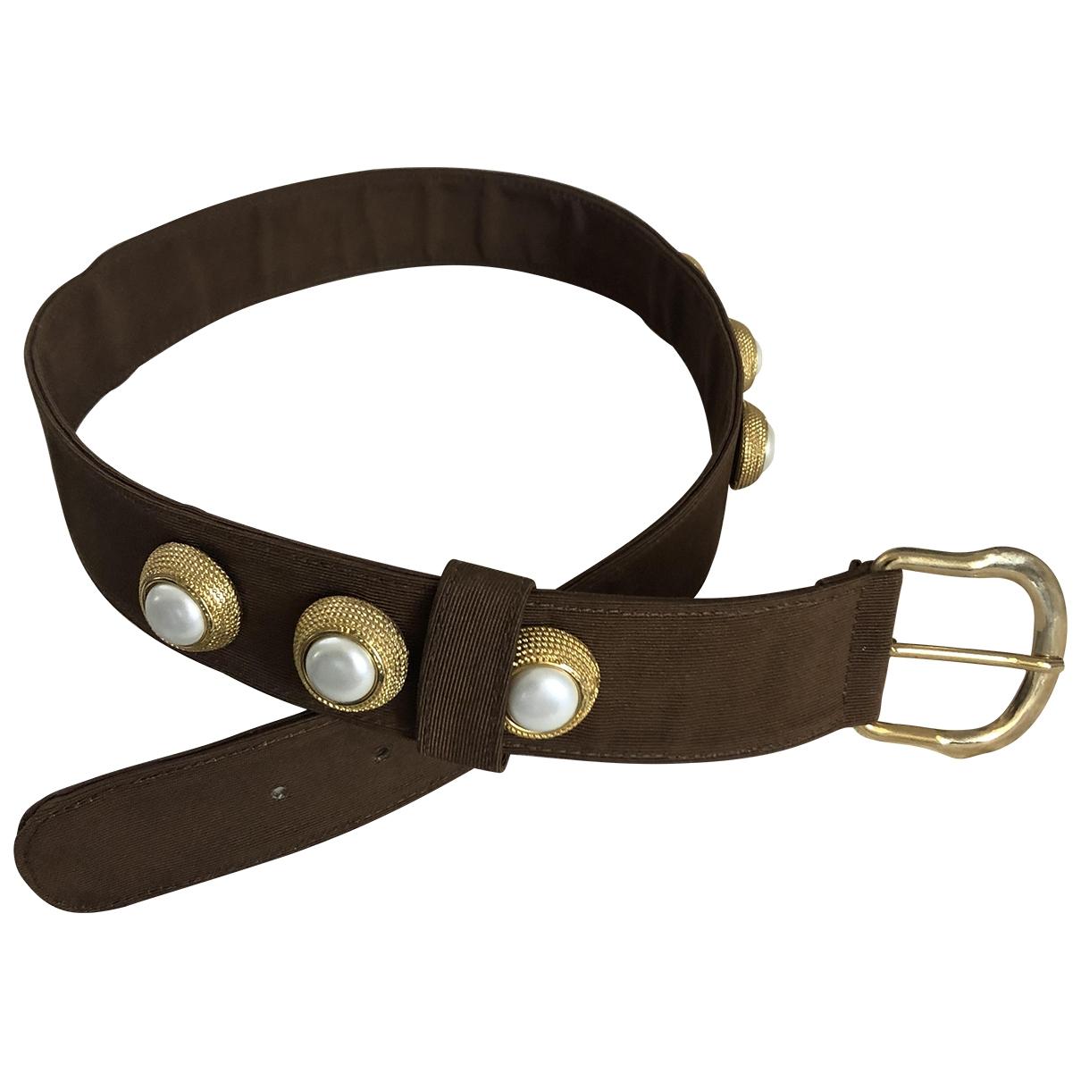 Cinturon de Lona Non Signe / Unsigned