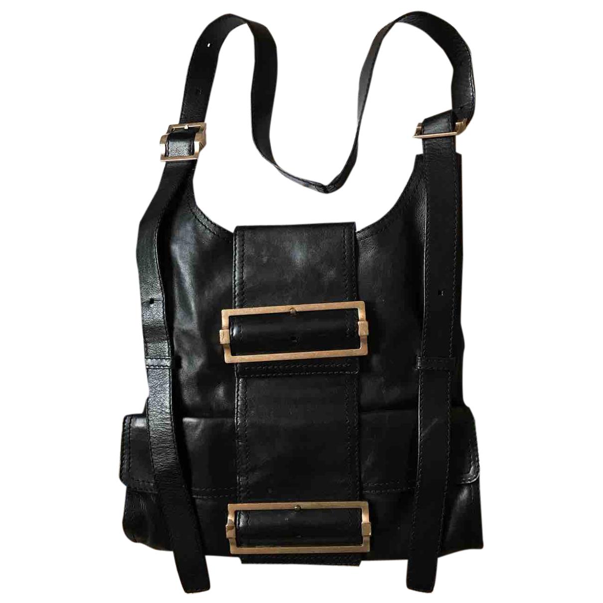 Givenchy - Sac a dos   pour femme en cuir - noir