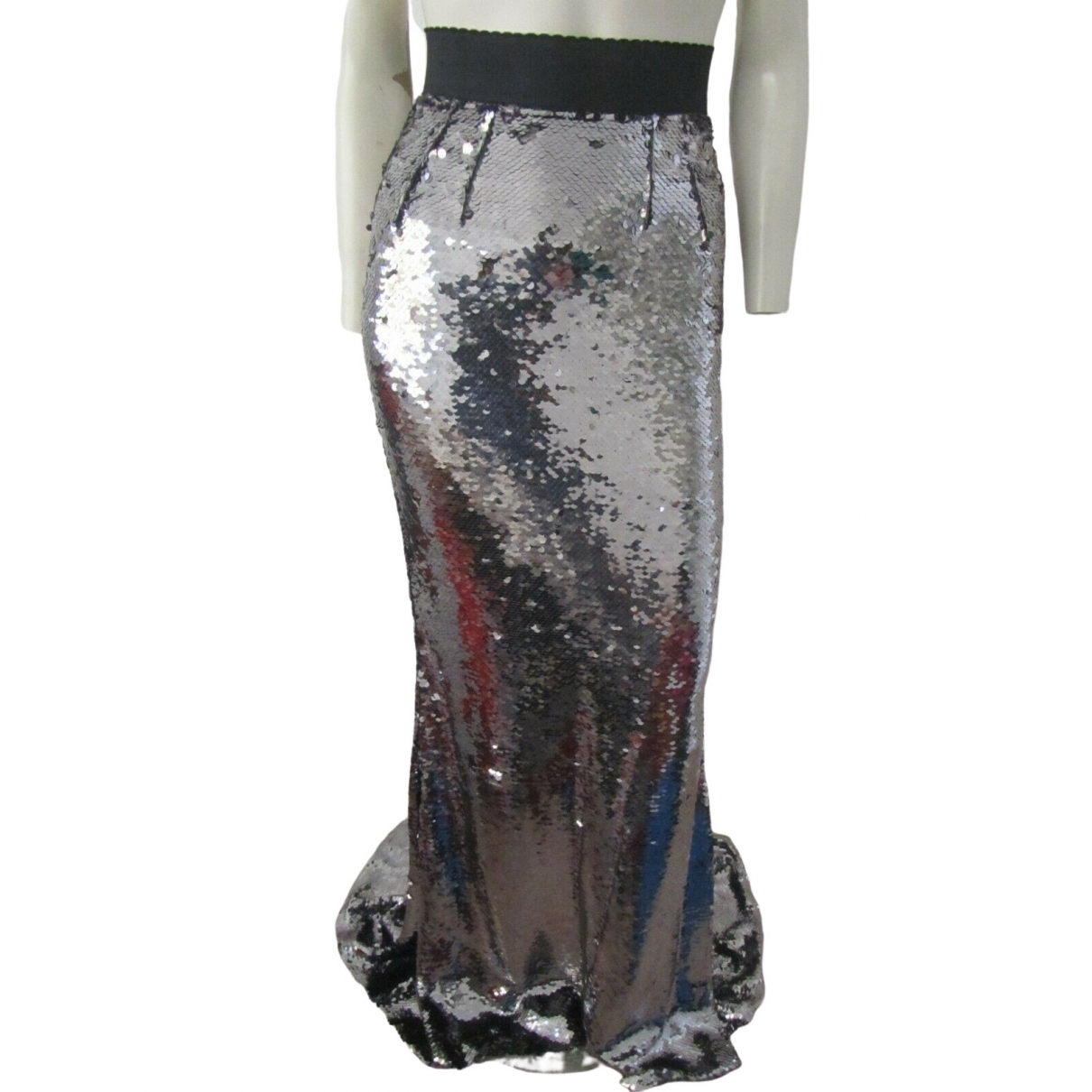 Dolce & Gabbana \N Metallic skirt for Women 38 IT