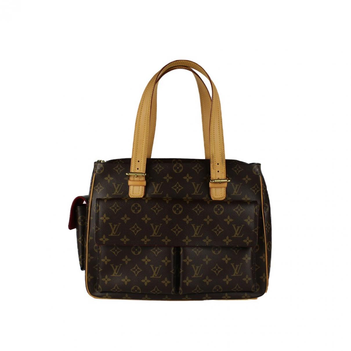 Louis Vuitton - Sac a main Multipli Cite  pour femme en toile - marron