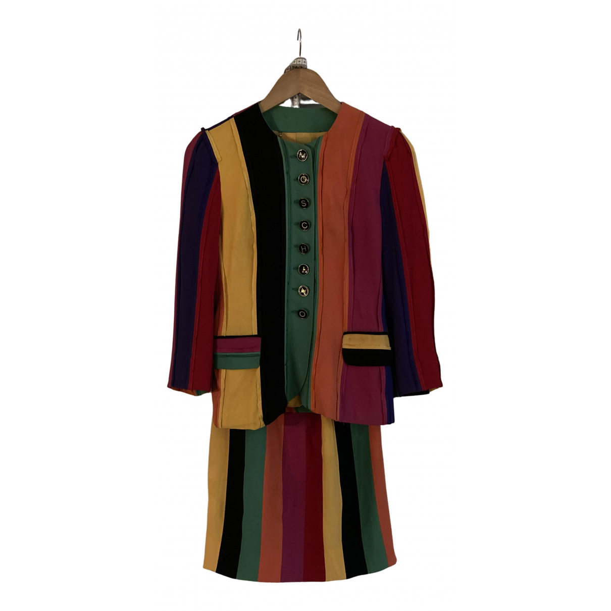 Moschino - Combinaison   pour femme en soie - multicolore