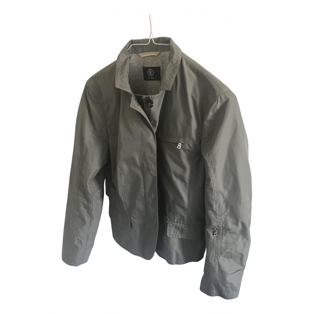 Bogner \N Jacke in  Grau Polyester