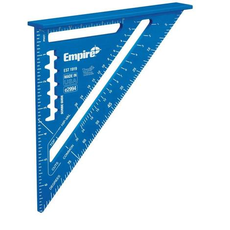 Empire 7 in. True Blue® Laser Etched Rafter Square