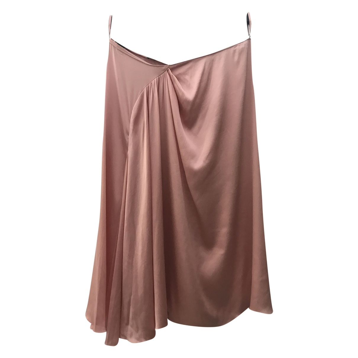 Prada \N Pink Silk skirt for Women 38 IT