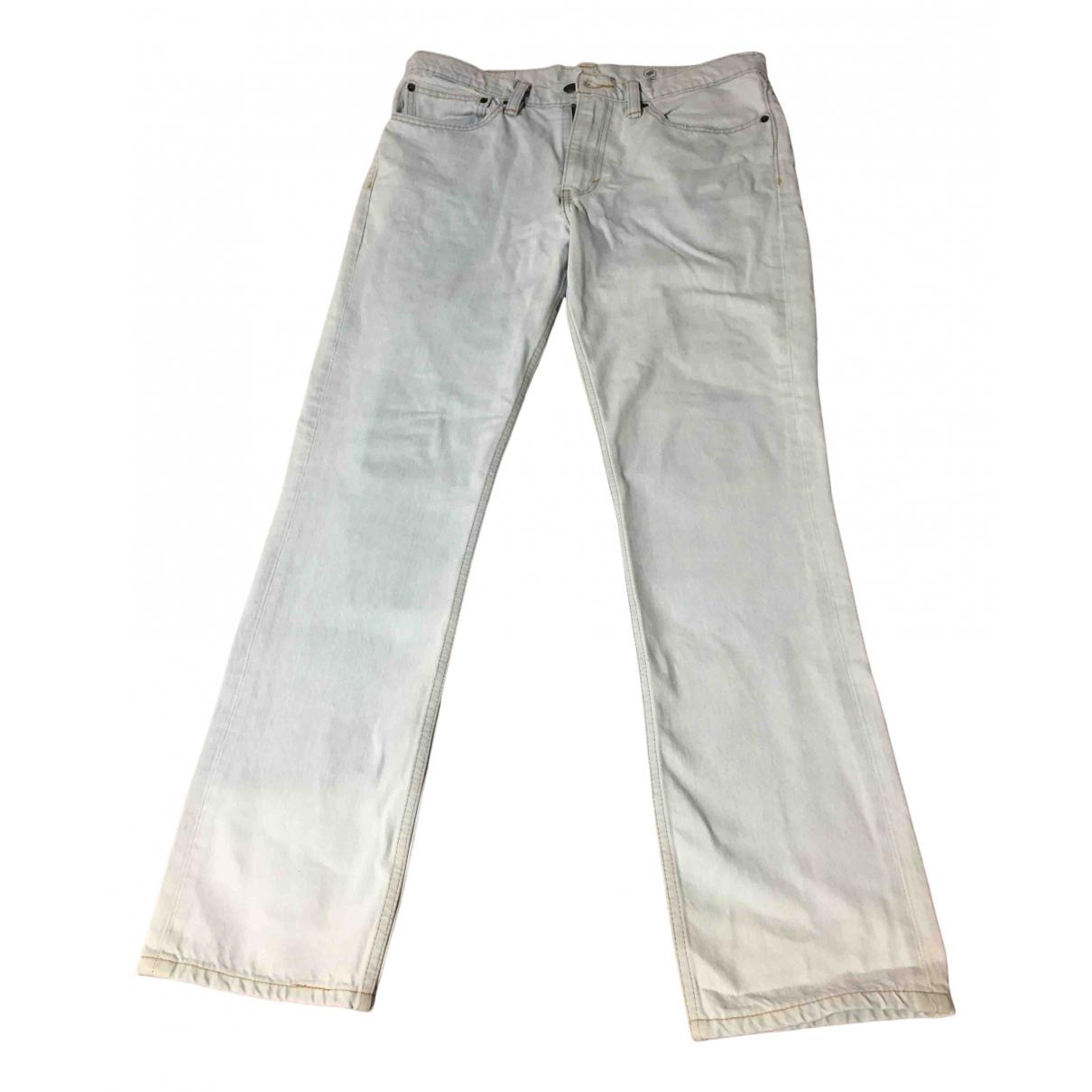 Levi's 511 Blue Cotton - elasthane Jeans for Men 34 US