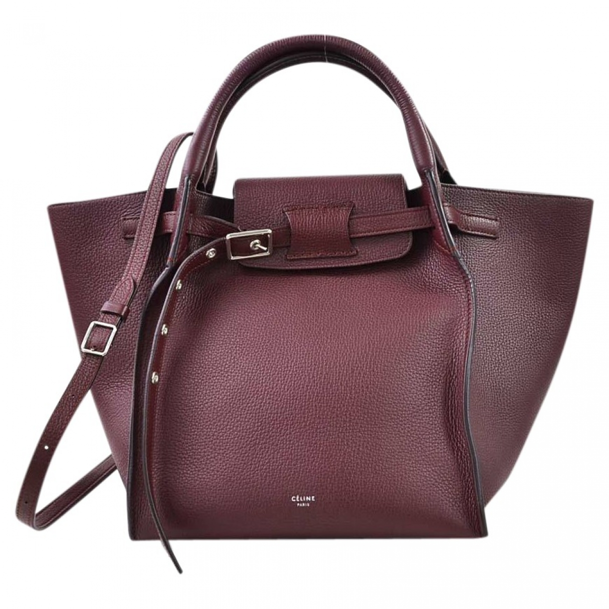 Bolso  Big Bag de Cuero Celine