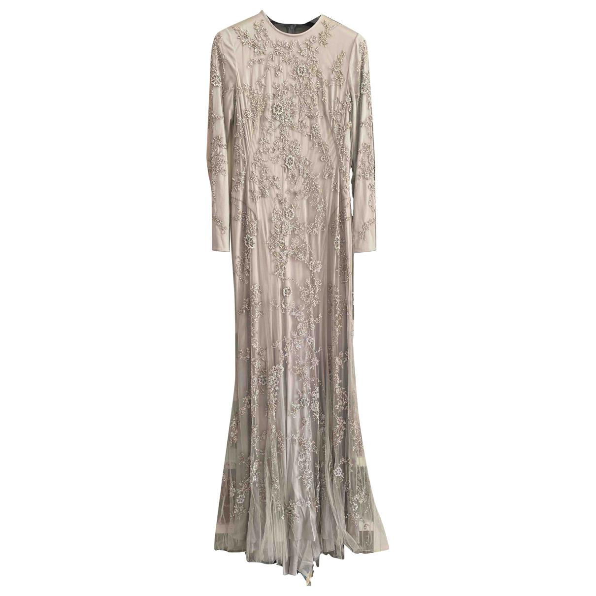Ralph Lauren Collection \N Kleid in  Grau Polyester