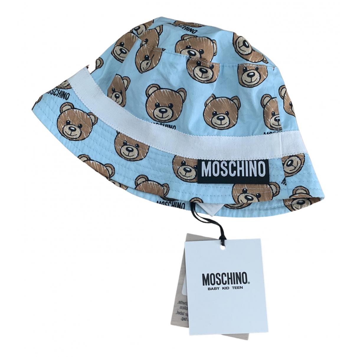 Moschino \N Hut, Muetzen, Handschuhe in  Blau Baumwolle