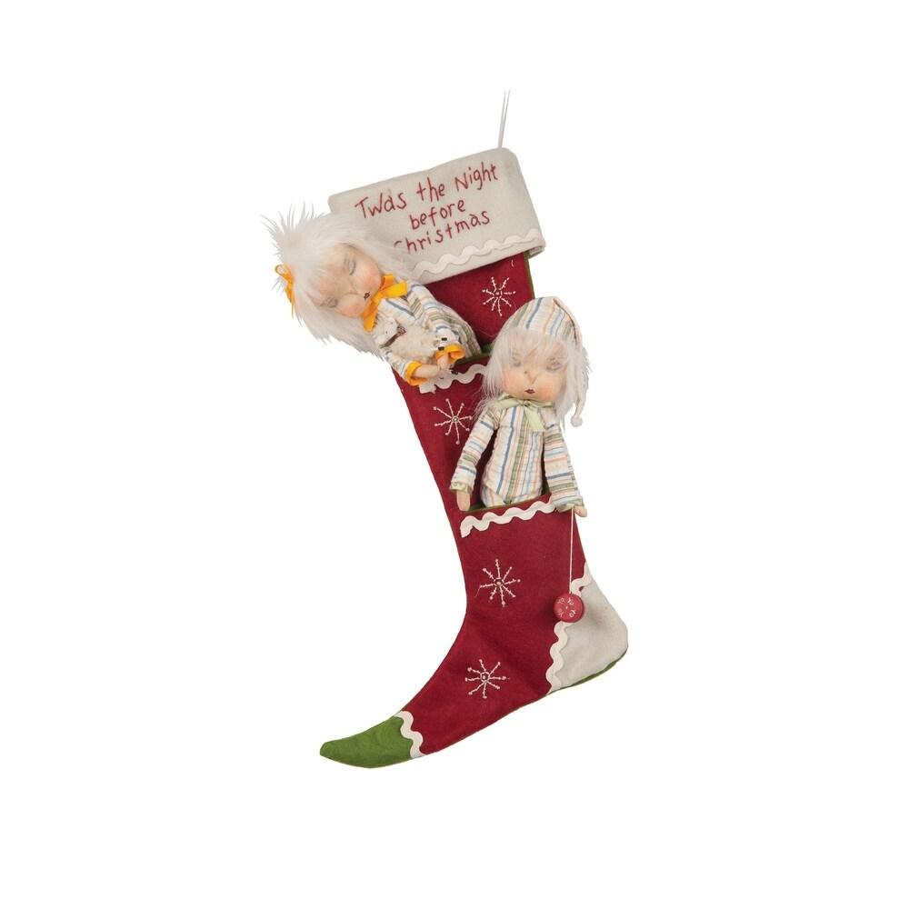 Masha & Fritz Christmas Stocking (Stockings)