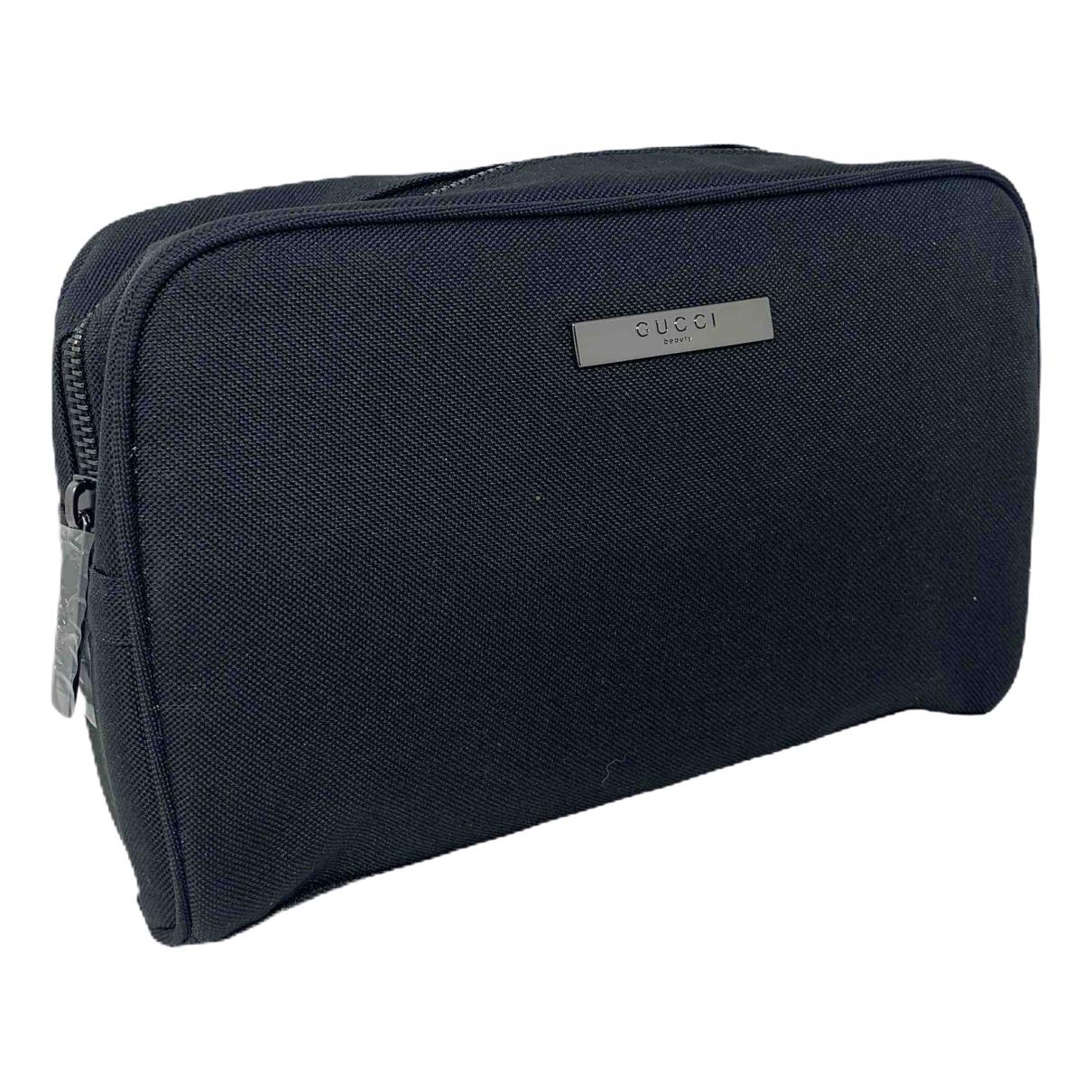 Gucci \N Black Cloth Travel bag for Women \N