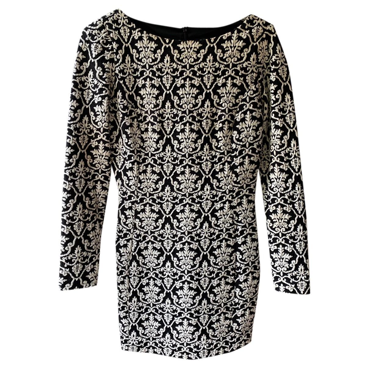 Armani Jeans \N Kleid in  Schwarz Baumwolle - Elasthan
