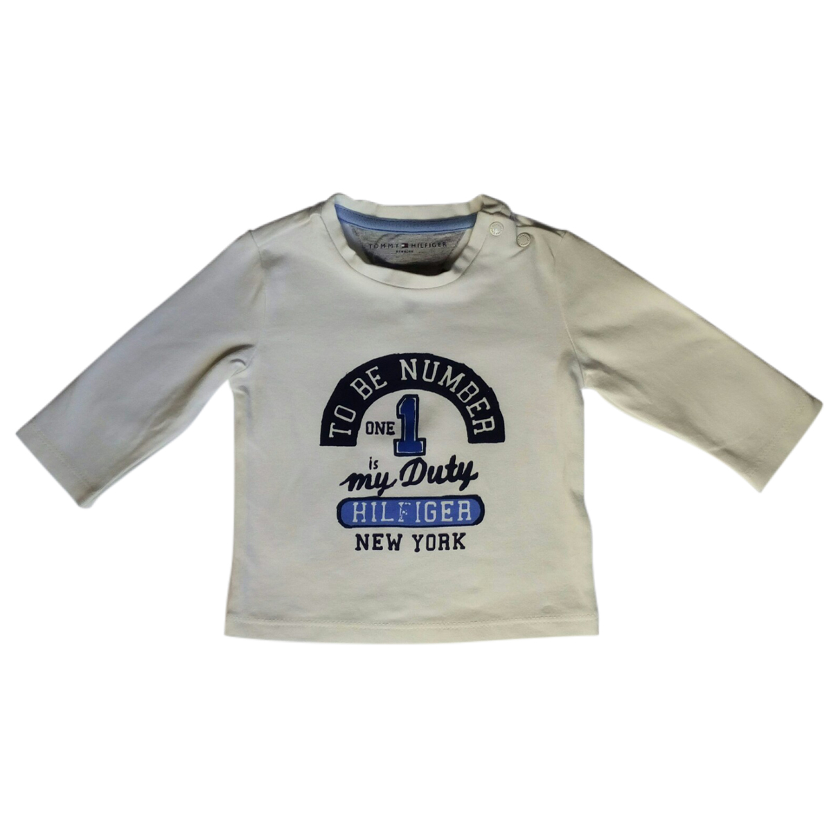 Tommy Hilfiger \N White Cotton  top for Kids 1 months - up to 55cm FR