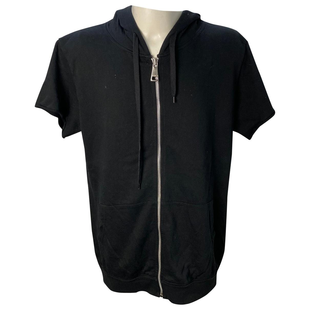 Pyrex - Pulls.Gilets.Sweats   pour homme en coton - noir