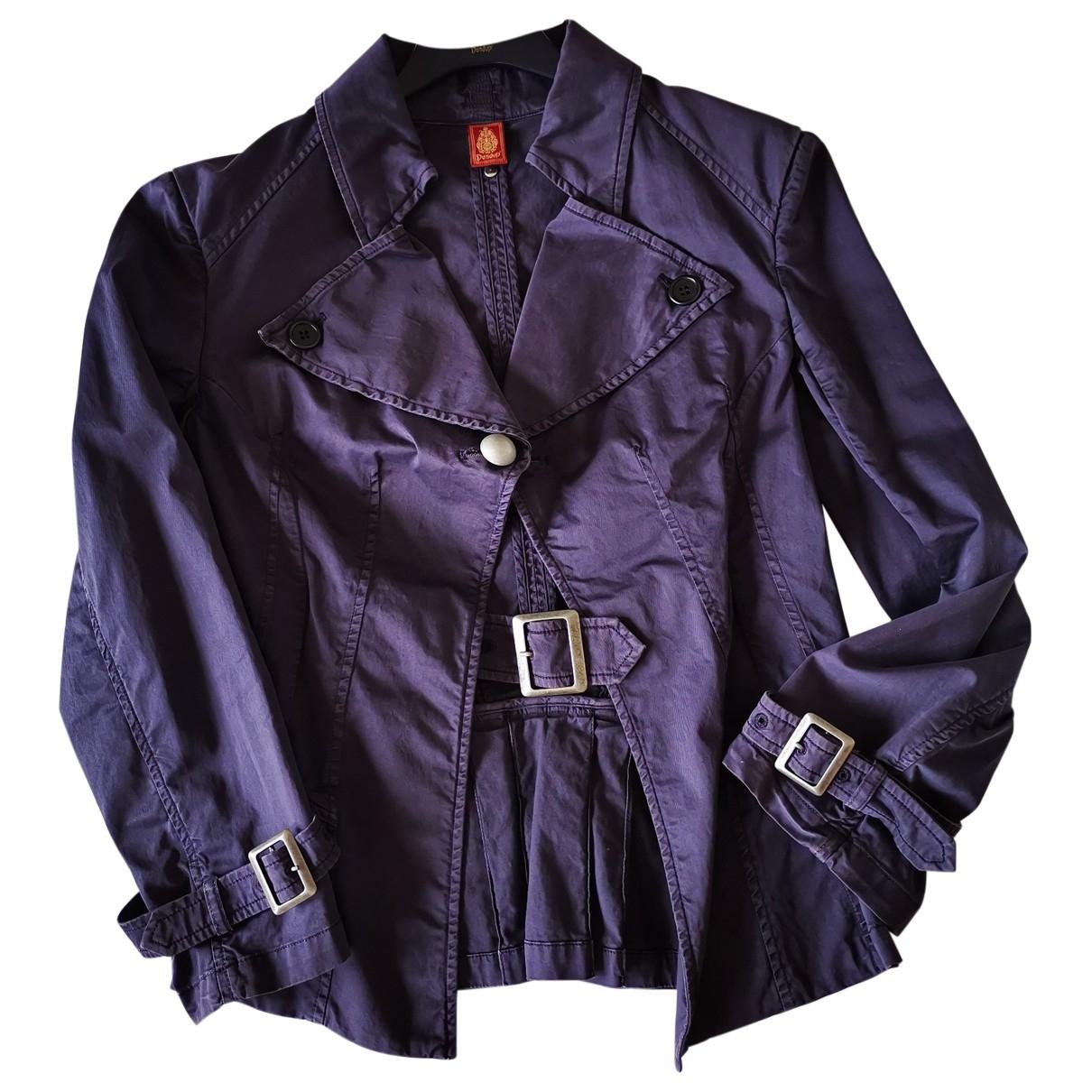 Dondup \N Blue Cotton jacket for Women 44 IT