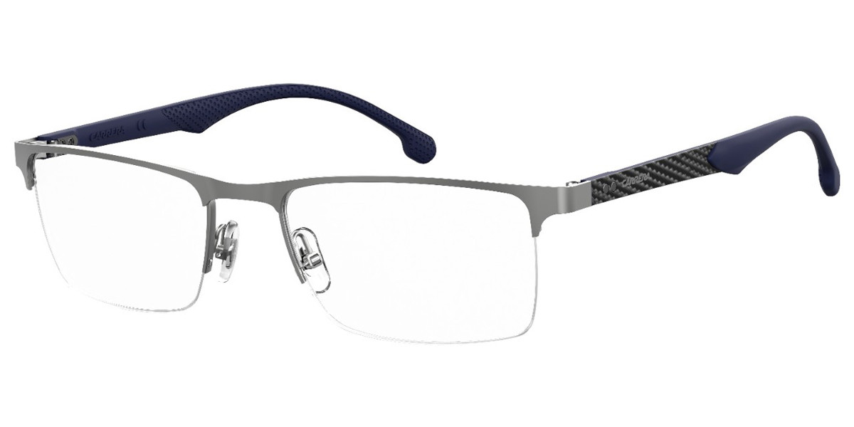 Carrera 8846 R81 Men's Glasses Grey Size 54 - Free Lenses - HSA/FSA Insurance - Blue Light Block Available