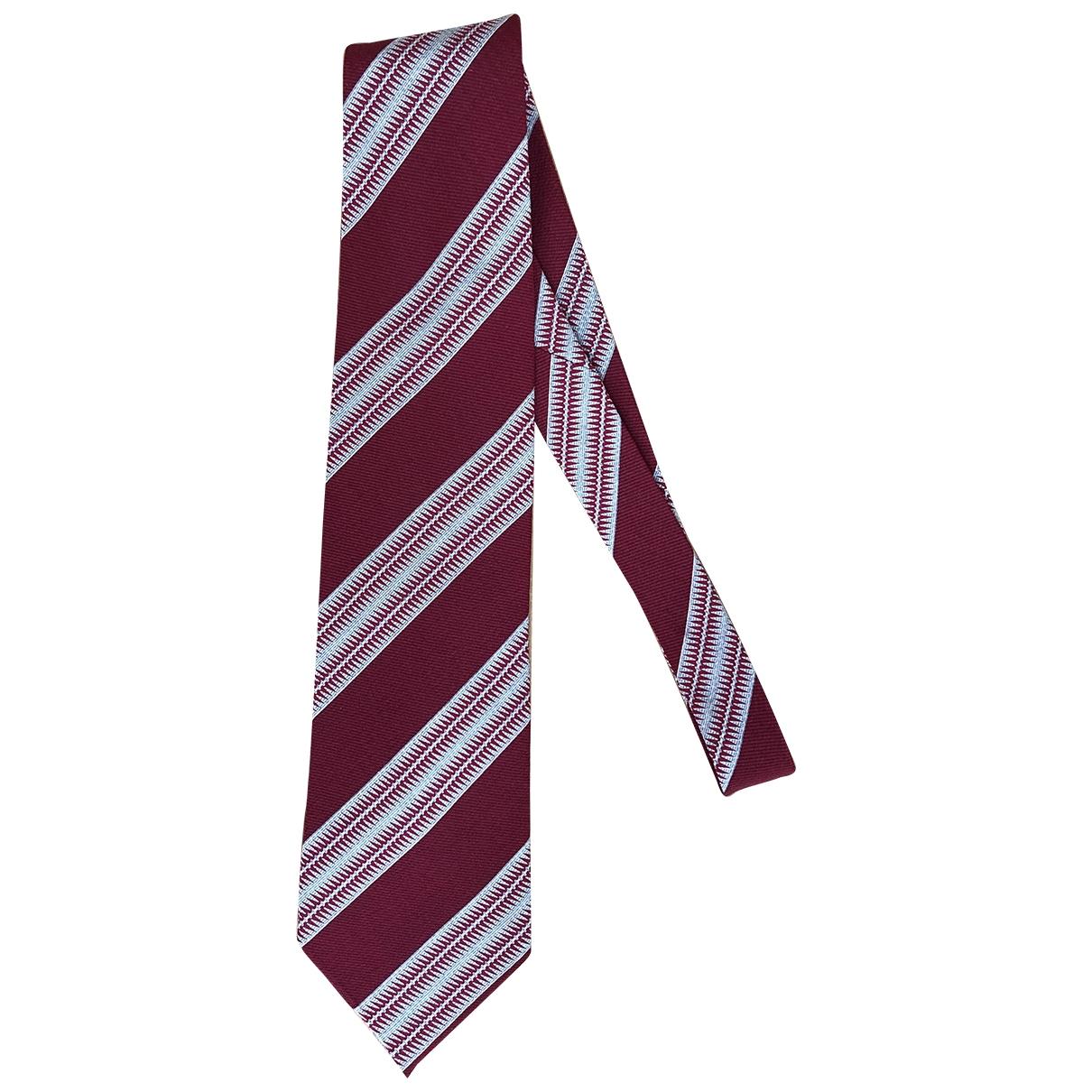 Armani Collezioni \N Krawatten in  Rot Seide