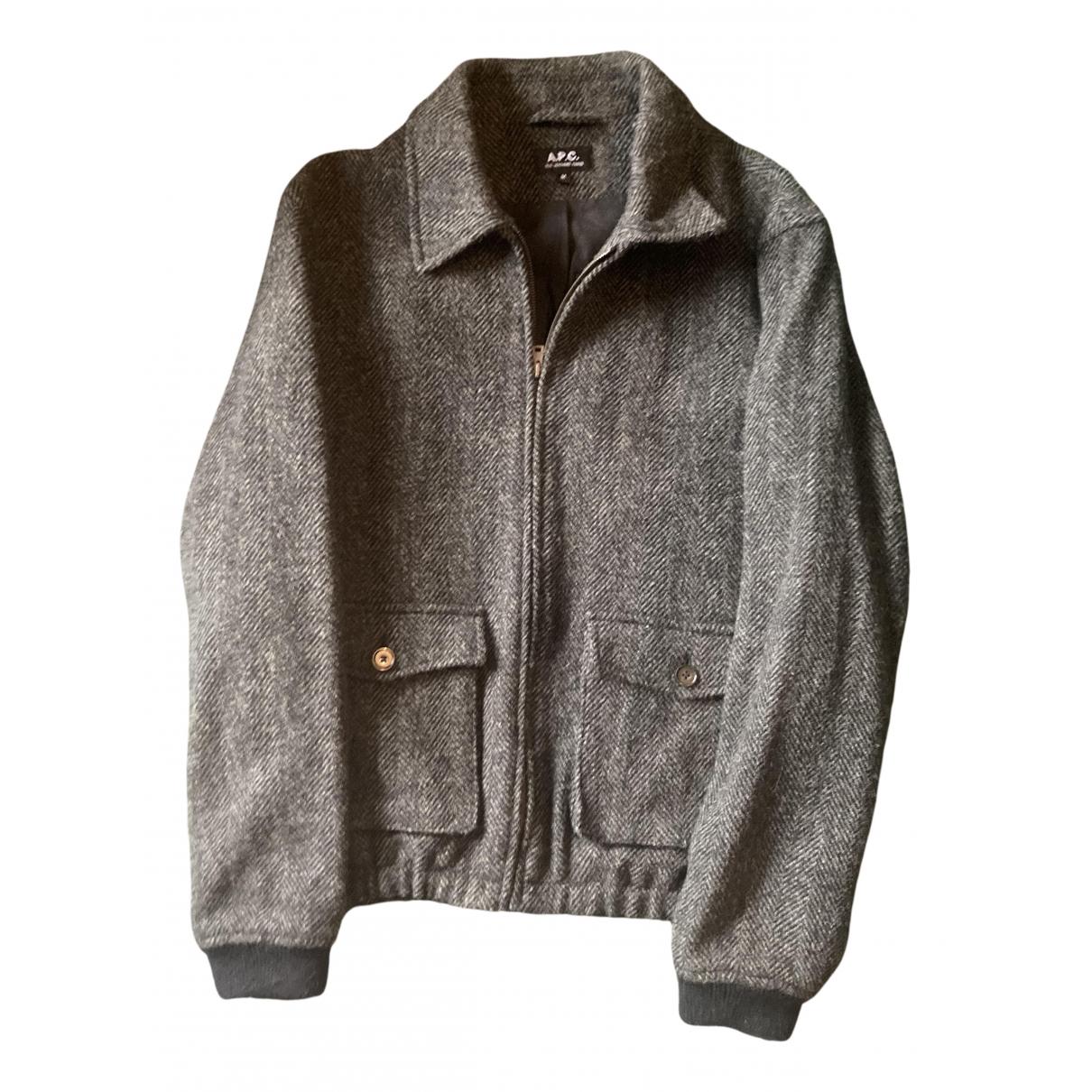 Apc \N Jacke in  Gruen Tweed