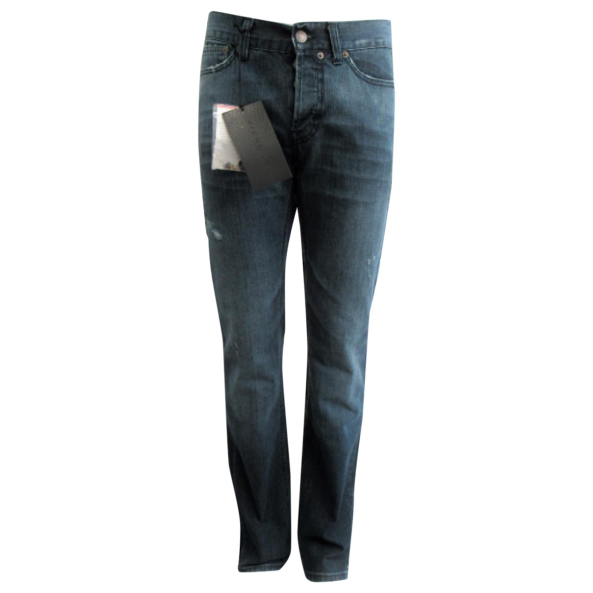John Richmond \N Blue Cotton Jeans for Men 29 US