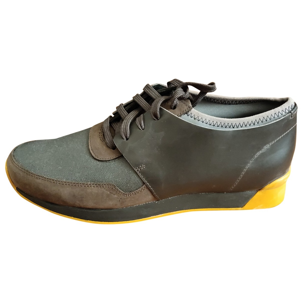 Camper \N Grey Leather Trainers for Men 42 EU