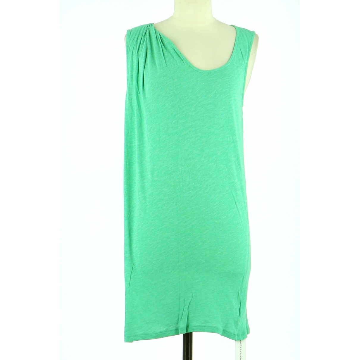 American Vintage \N Green Cotton dress for Women 40 FR