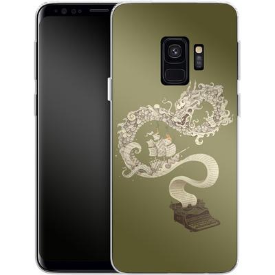 Samsung Galaxy S9 Silikon Handyhuelle - Unleashed Imagination von Enkel Dika