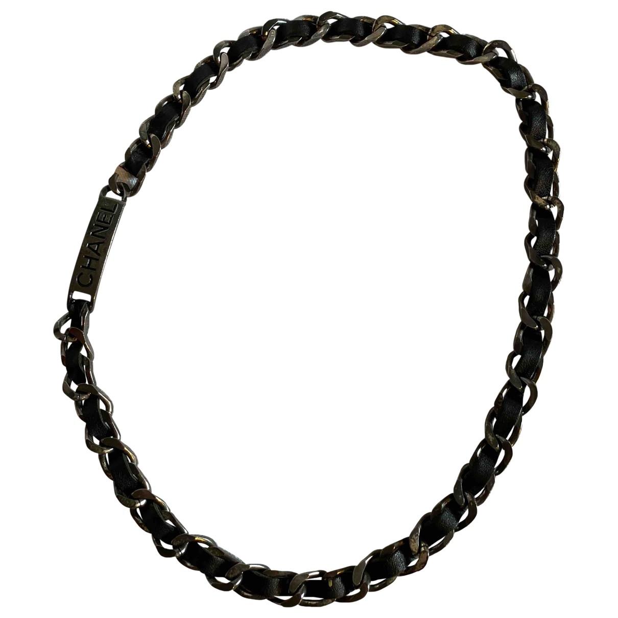 Chanel - Sautoir   pour femme en metal - gris